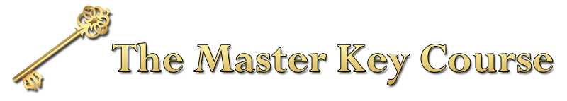 The Master Key Course Logo